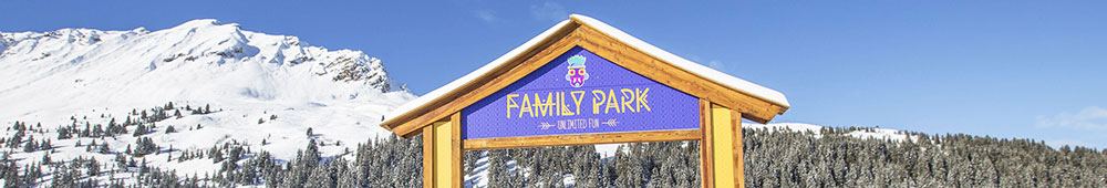 portique du family Park de Courchevel